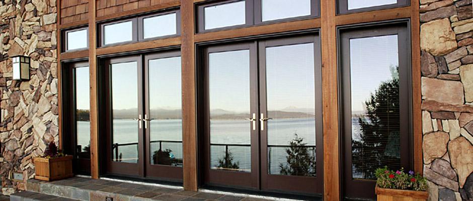 Portes de terrasse montr al portes et fen tres porto for Fenetre montreal